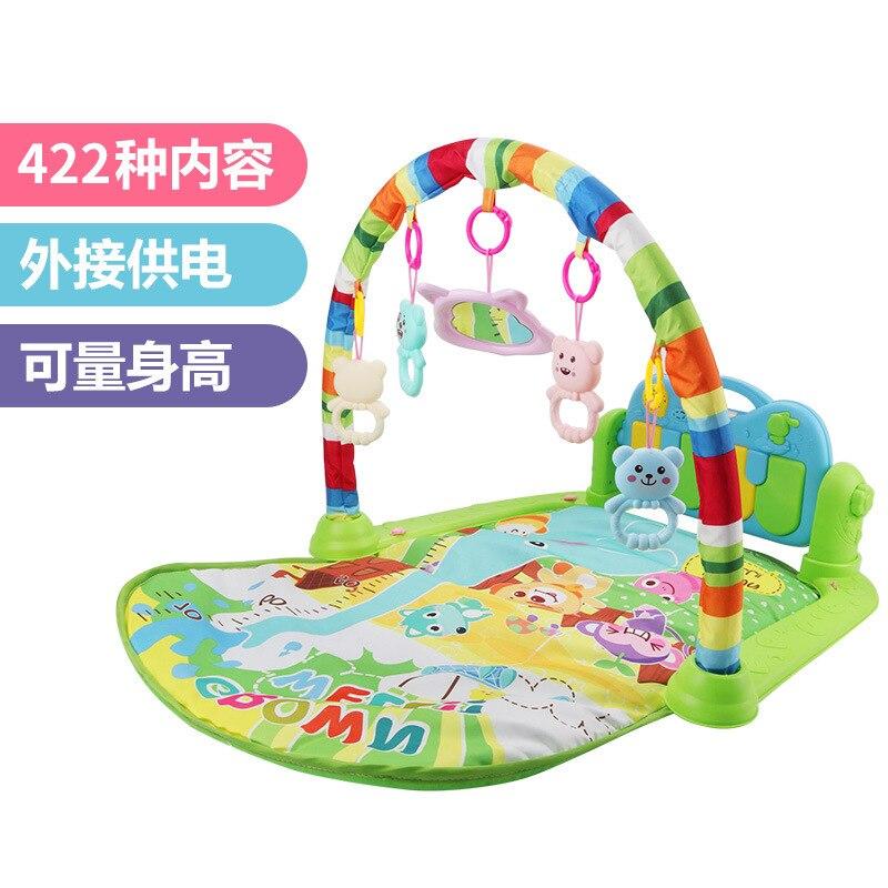 [Hot Selling Hot Sales] Infant Fitness Rack Baby Multi-functional Music Harmonium Newborns Toy