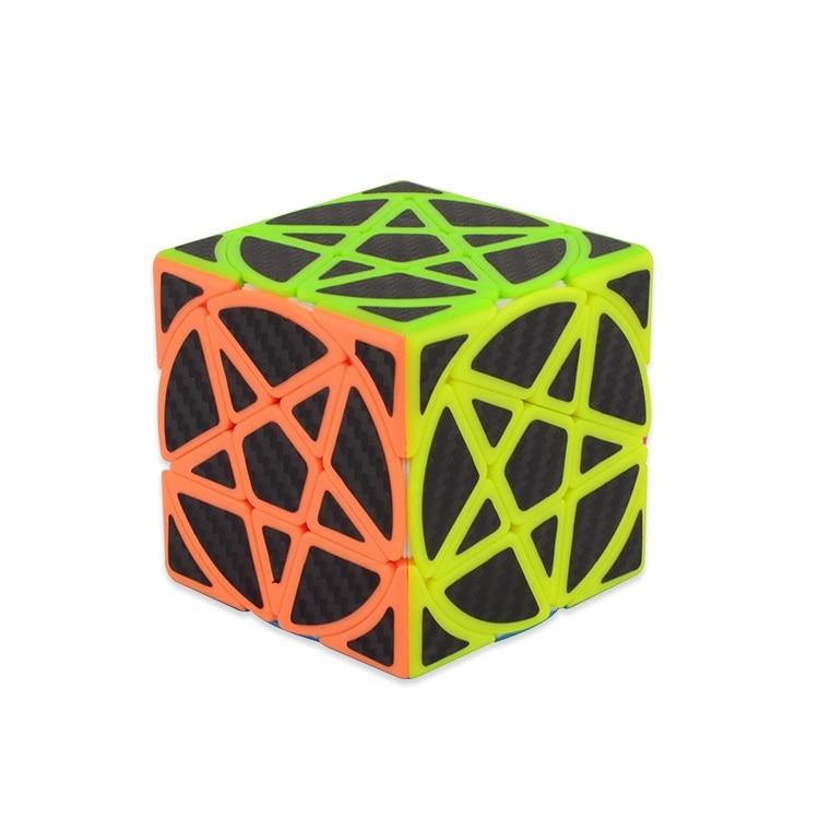Magic Pentacle Cube Profissional Strange-shape Stars Pentagram Magic Cube Competition Speed Puzzle Cubes Toys For Children Kids 7