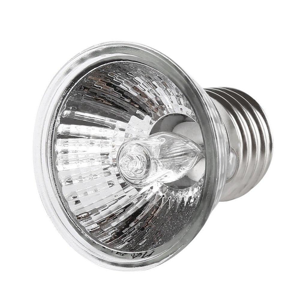 2018 NEW 25W 50W 75W Turtle Basking UV Light E27 Amphibians Lizards Heating Lamp Portable Full Spectrum Reptile Lamp WHOLESALE