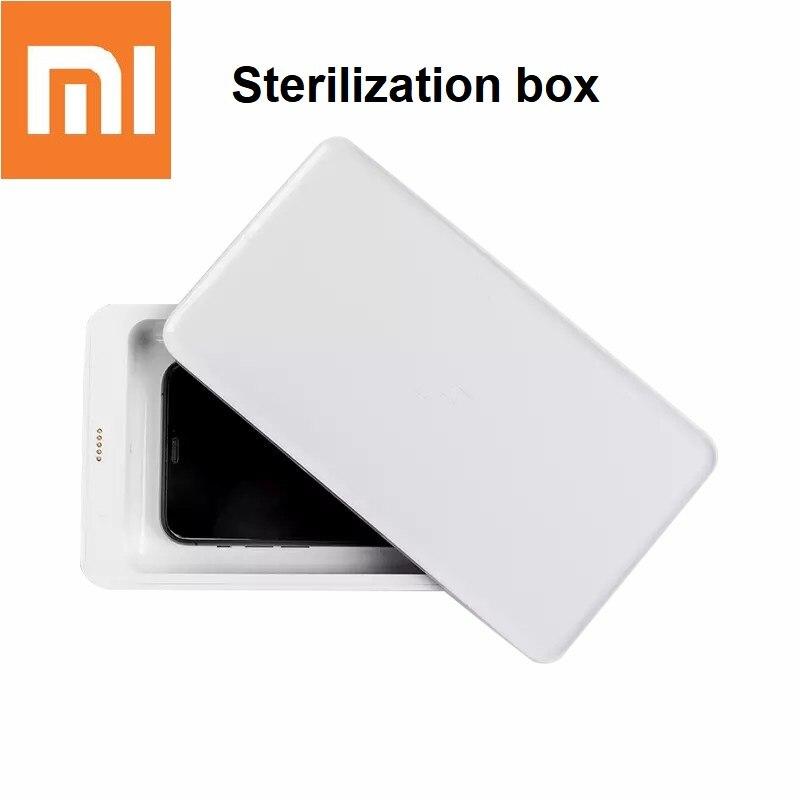 Xiaomi FIVE Multifunctional Sterilizing Box UV Sterilization Mobile Phone Cosmetics Disinfection Box Wireless Fast Charger