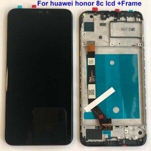 Image 5 - Rahmen + Original 6,26 LCD Für Huawei Ehre 8C LCD Display Touchscreen Digitizer Montage Für Honor Paly 8C BKK AL10 BKK L21 LCD