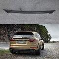 Углеродное волокно задний Средний спойлер крыло для Porsche Cayenne 958 Turbo S Спорт 4 двери 2015-2017 багажник загрузки спойлер