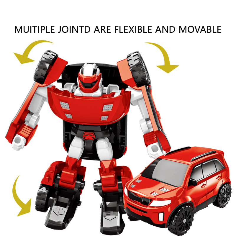 Robot Car Transformers Kids Toys Toddler Vehicle Cool Toy For Boys Children Gift