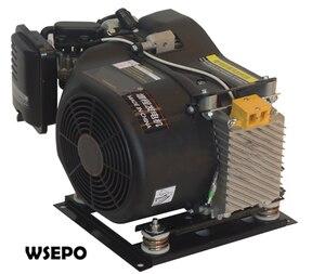 Image 2 - WSE7000A 7KW 48/60/72V AutoStart/Stop Autochoke/przepustnicy gazu DC ładowania baterii Inveter Generator stosowane dla E Bike/E trójkołowy