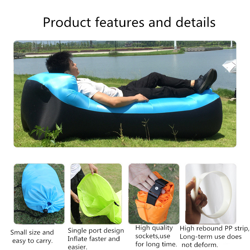 Sleeping-Bag Air-Sofa-Bed Outdoor-Products Trend Inflatable Good-Quality 240--70cm