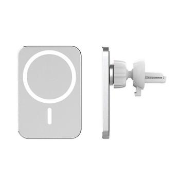 15W magsacing bezprzewodowa ładowarka uchwyt samochodowy uchwyt Air Vent dla iPhone 12 Pro Max kompatybilny z iPhone 8-11 i Qi Android tanie i dobre opinie HAIMAITONG CN (pochodzenie) półki