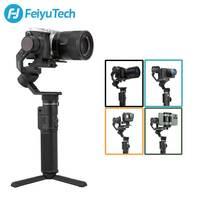 FeiyuTech stabilizzatore per fotocamera cardanica palmare G6 Max a 3 assi Feiyu per RX100 Ⅳ per GoPro Hero 8 7 6 Smartphone per Canon EOSM50 usato
