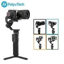 FeiyuTech – G6 Max stabilisateur de caméra à cardan 3 axes portatif, Feiyu pour RX100, pour Smartphone GoPro Hero 8, 7, 6, pour Canon EOSM50 utilisé