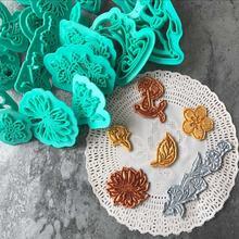 Недавно цветы Троянский конь Орел Голубь Форма печенья fondant