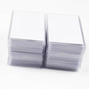 Image 1 - 1000 Cái/lốc Nfc 1K S50 Mỏng Nhựa Pvc Thẻ Cảm Ứng RFID 13.56MHz ISO14443A Thẻ Thông Minh Phục Đán Chip Chống Thấm Nước