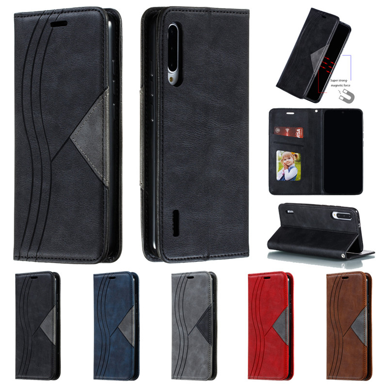 For <font><b>Xiaomi</b></font> <font><b>Mi</b></font> <font><b>A3</b></font> Case <font><b>Fundas</b></font> <font><b>Xiaomi</b></font> MiA3 Leather Magnetic Flip Wallet Phone Case sFor Coque Xiomi <font><b>Xiaomi</b></font> <font><b>Mi</b></font> <font><b>A3</b></font> A 3 Cover Etui image