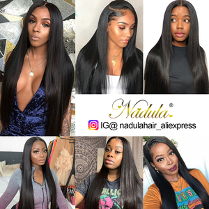 Image 5 - Nadula Hair mechones de cabello liso de 28 pulgadas y 30 pulgadas, 3 mechones/4 mechones, cabello humano liso Remy
