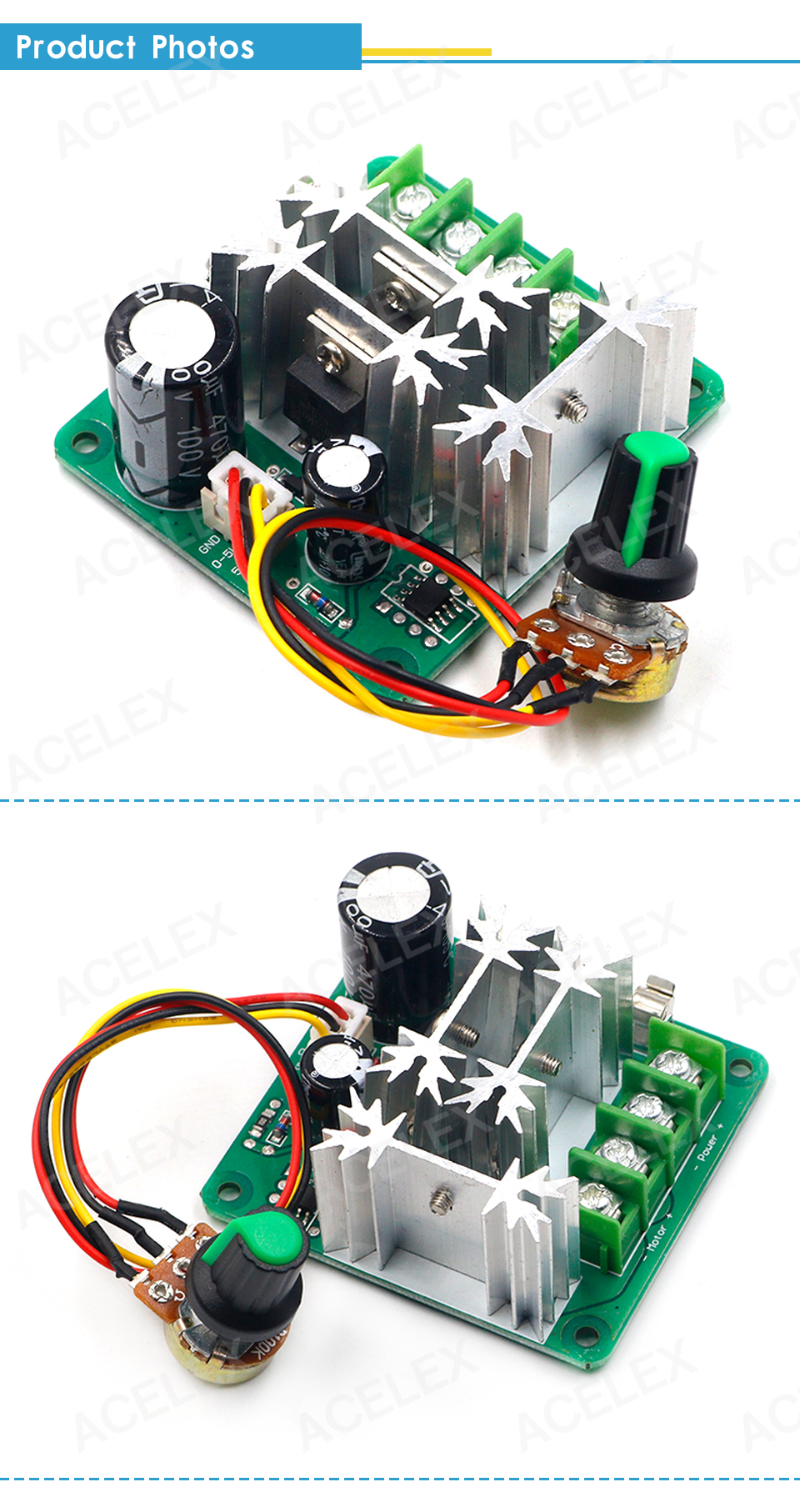 H0a2d2e7550ec47c486b2a3e93ebee584R - DC 6V-90V 15A DC Motor Speed Controller Stepless Speed Regulation Pulse Width PWM DC 12V 24V 36V 48V 1000W
