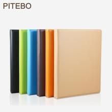 PITEBO Leather Business SuppliesA3 / A4folder information collection business license certificate album folder album collection