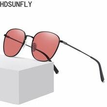 Men Round Sunglasses Polarized Alloy frame 2020 Rays Brand D