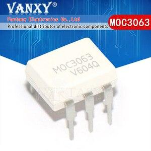 """Image 5 - 10PCS MOC3020 MOC3021 MOC3022 MOC3023 MOC3041 MOC3043 MOC3052 MOC3061 MOC3062 MOC3063 DIP6 מח""""ש החדש המקורי"""