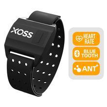 Датчик сердечного ритма на руку XOSS, умный наручный фитнес-браслет с поддержкой Bluetooth, ANT +, беспроводной, для велоспорта, для GARMIN