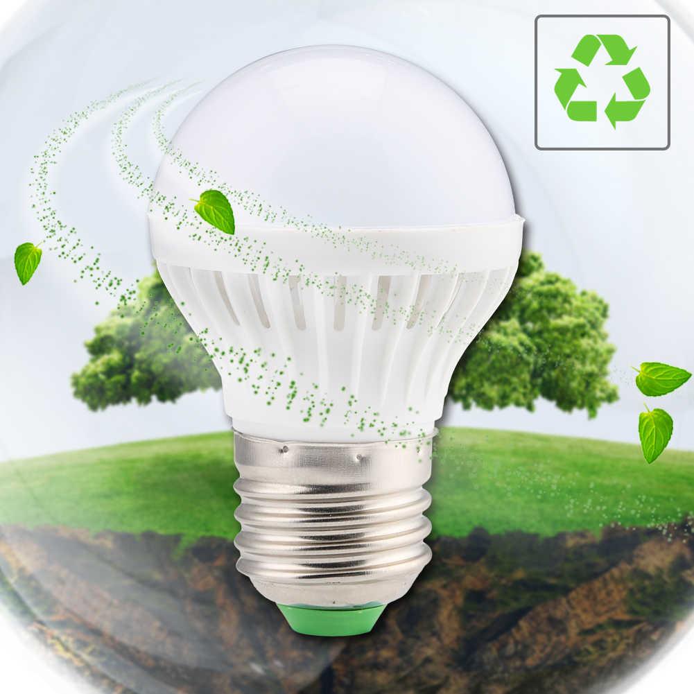 E27 Hemat Energi Lampu LED Lampu Lampu Motion-Sensor Malam Bohlam