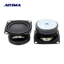 Aiyima 2Pcs 2 Inch Portable Audio Mini Woofer Speaker 4 Ohm 5W 53 Mm Bass Speaker DIY Bluetooth musik Multimedia Loudspeaker(China)