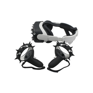 Image 3 - الغطاء الواقي VR شل ل كوة كويست 2 تحكم السيطرة يغطي سيليكون واقي الوجه ل كوة كويست 2 الملحقات
