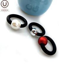 Ukebay 2020 новые жемчужные кольца модные резиновые ювелирные