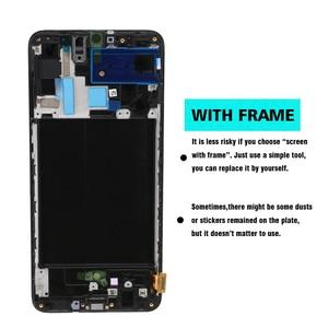 Image 5 - Orijinal 6.7 süper AMOLED LCD ekran Samsung Galaxy A70 LCD A705 A705F SM A705MN ekran dokunmatik ekran Digitizer meclisi