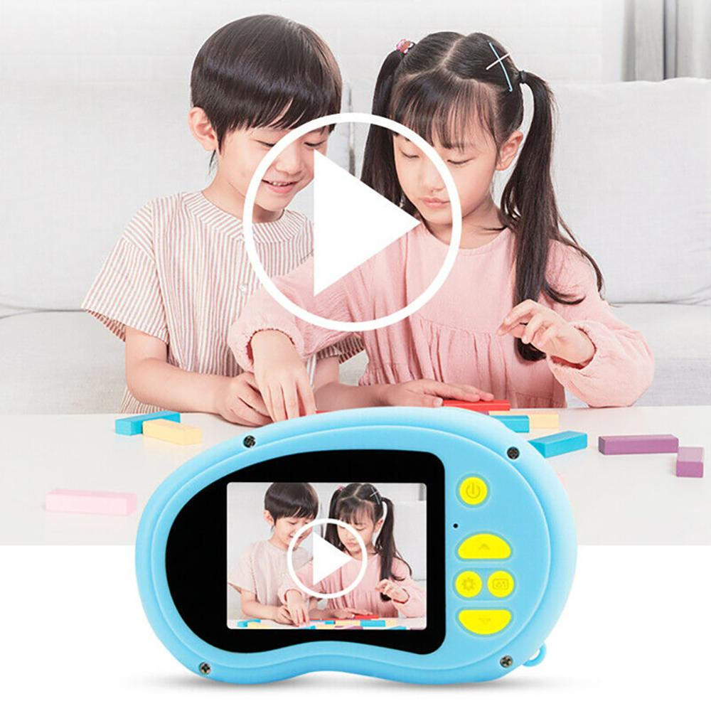 Mini Kids HD 1080P Video Digital Camera Toys 2.0 Inch HD Video Recorder Camcorder Toys For Children Boy Girl Gift