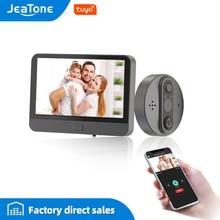Camera-Monitor Doorbell-Viewer Peephole Remote-Control Smart-Phone Wifi Wireless