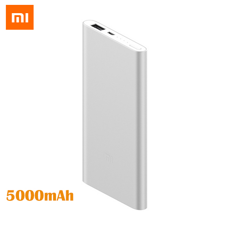Original Xiao mi mi Dünne 5000 mAh Power Bank Tragbare Ladegerät Power Externe <font><b>Batterie</b></font> Pack Für iPhone Samsung Huawei 5000 mAh image