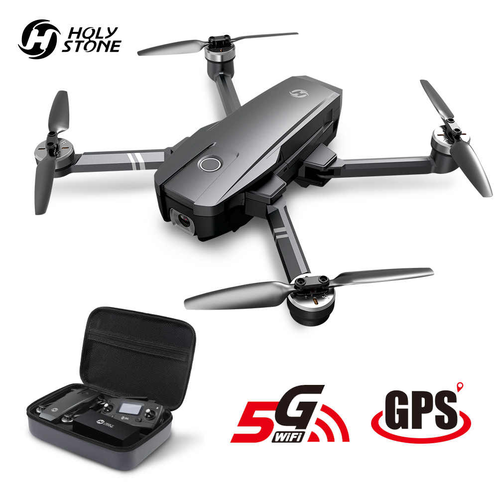 Holy Stone HS720 RC Drone GPS Brushless Motor 5G GPS Drone 4K Gimbal 400M Wifi FPV 26 menit Profissional Quadcopter Quadcopter