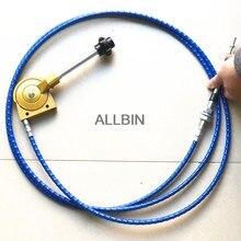 Cable de acelerador manual modificado, accesorios de excavadora, para CATERPILLAR CAT, HITACHI, ZX, DAEWOO, HYUNDAI, SANY, SY, KOBELCO SK