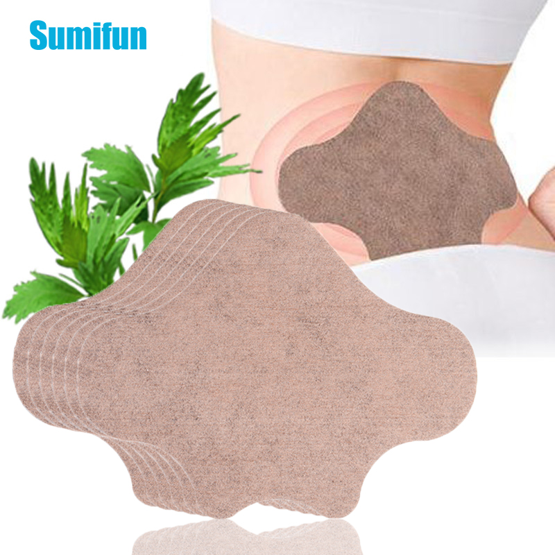 12Pcs Wormwood Back Medical Sticker Lumbar Spine Pain Relief Patch Arthritis Patch Pain Relieving Plaster D2526