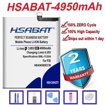 Marca superior 100% nuevo 4950mAh HB436380ECW batería para Huawei P30 batería ELE-L09 ELE-L29 ELE-AL00 ELE-TL00 en stock