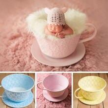 Новорожденный Подставки для фотографий железная корзина Чай