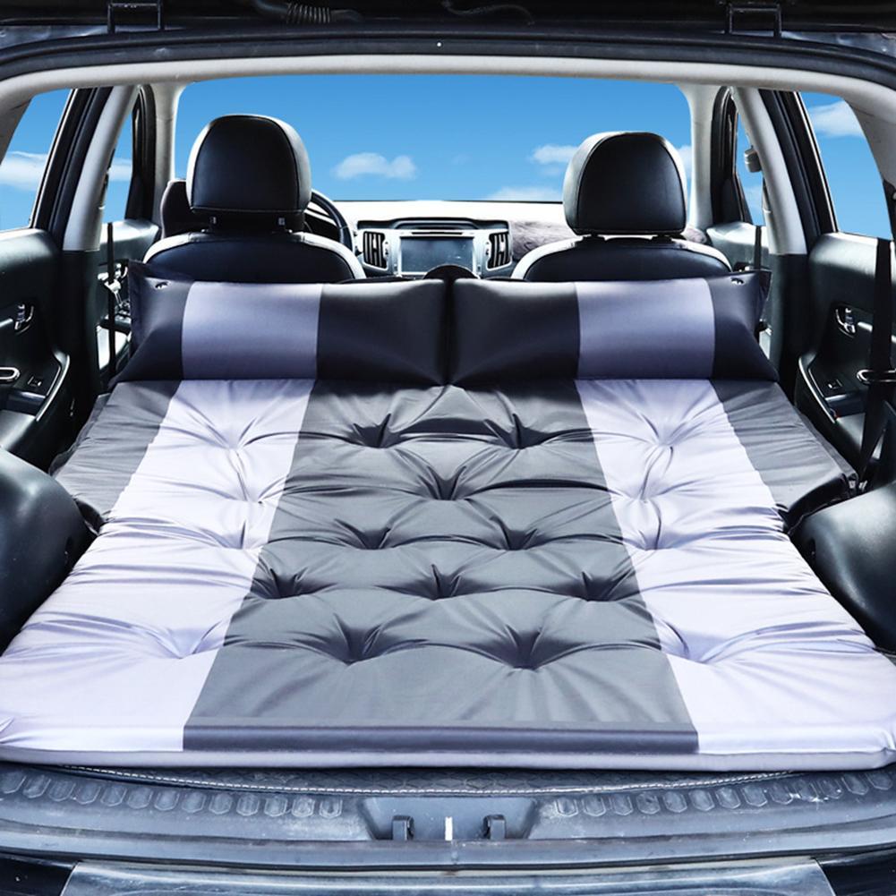 Car Inflatable Bed SUV Car Mattress Rear Row Car Travel Sleeping Pad Off-road Air Bed Camping Mat Air Mattress Auto Accessories