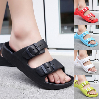 цена на New Women Casual Shoes Fashion Beach Breathable Flip Flops Shoes Home Bathroom Beach Flip Flops Slippers