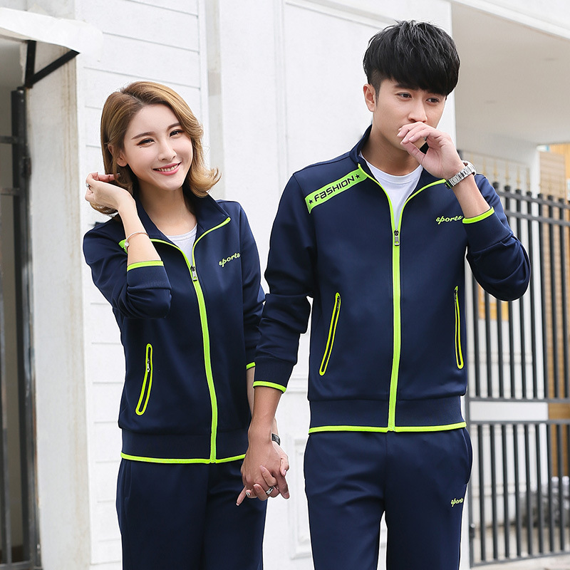 Spring And Autumn New Style MEN'S Sport Suit Cardigan Li Ling Kuan Couples Hoodie Women's Team Sports Clothes Customizable Logo
