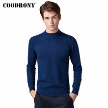 COODRONY Brand Pure Merino Wool Sweater Men Classic O-Neck Pull Homme Autumn Winter Thick Warm Soft Cashmere Pullover Men 93024 coodrony brand pure merino wool sweater men autumn winter thick warm soft cashmere pullover men fashion o neck pull homme 93021