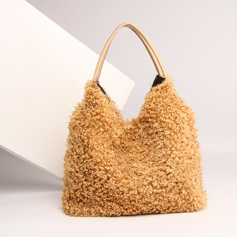 Fashion Folding Women Handbag Tote Top handle Bags women shoulder bag female large tote soft velutum messenger bag for women in Top Handle Bags from Luggage Bags