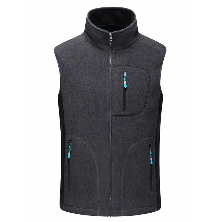 Men's Autumn Fleece Softshell Vests Winter Warm Waistcoat Mens Casual Sleeveless Outwear Jacket Male Brand Clothing