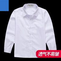 2019 Teenage Boys Shirts School Uniform Shirt For Boys Turn Down Collar Shirt White Blouses Kids Teen Clothes 6 8 10 12 14 Year