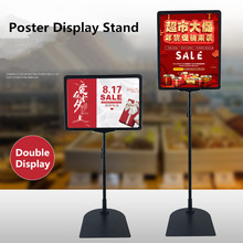 Racks-Stand Cardboard-Display Sign-Holder Height-Adjustable Stainless-Steel A4 Promotion