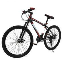26 дюймов 21 скоростной велосипед, двойной дисковый тормоз, двойная Противоударная рама, горный велосипед для взрослых и подростков, велосипед