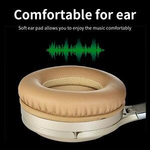 Image 4 - ANC bluetooth אוזניות פעיל רעש מבטל & Wired אוזניות עם מיקרופון אוזניות עמוק בס Hifi קול אפרכסת