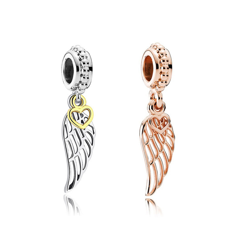 Shopping Pandora Rose Gold Wing Charm With A Reserve Price Up To 66 Off