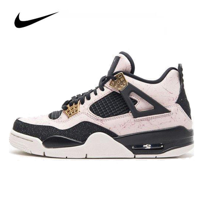 Nike Air Jordan 4 Silt Red AQ9129-601 Women's Basketball Shoes Original High-top Comfortable Sports Outdoor Sneakers