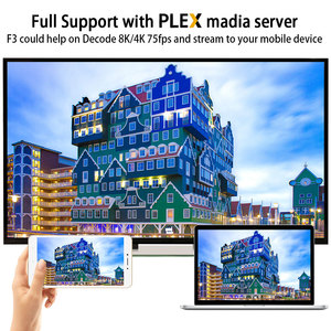 Image 2 - TV Box A95X F3, Android 9,0, 8K, con luz RGB, Amlogic S905X3, 4GB, 64GB, wi fi Dual, 4K, 60fps, Youtube, reproductor multimedia