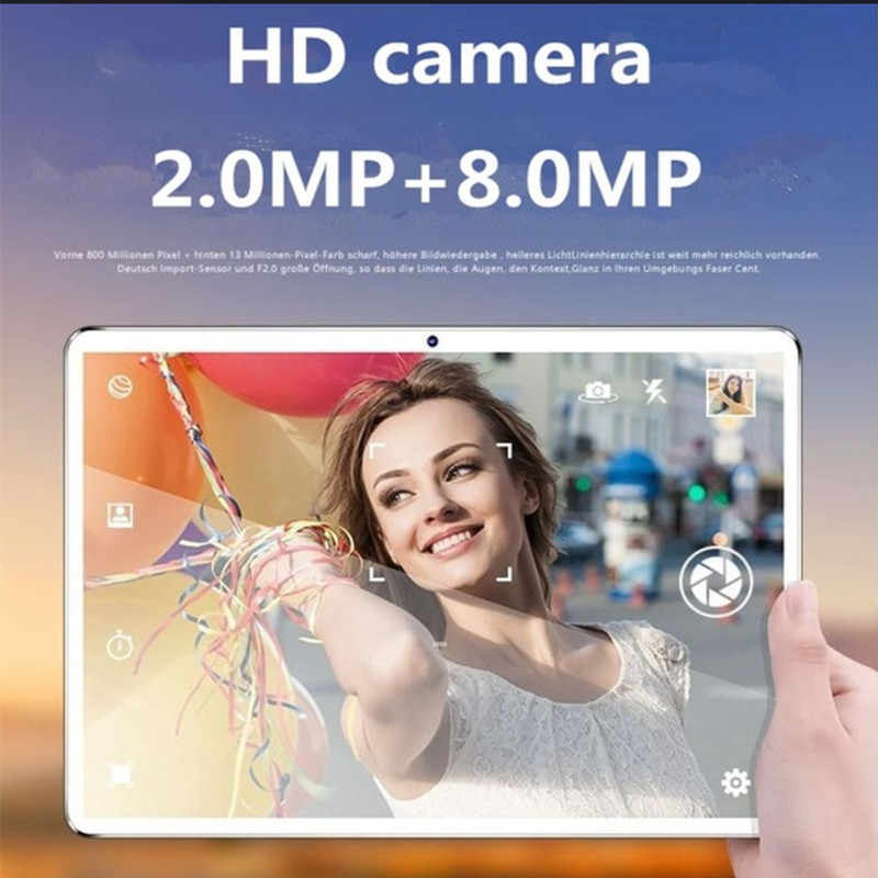 2020 yeni çocuklar tablet mutlti dokunmatik 4G Android 8.0 8 çekirdek Google mağaza tabletler 6GB RAM 128GB ROM WiFi GPS 10 inç tablet