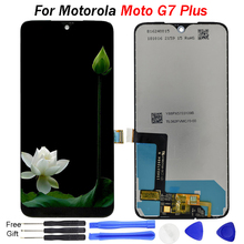 For Motorola Moto G7 PLUS LCD Display XT1965-2 XT1965-3 Display Touch Screen Digitizer Assembly Replacement For Moto G7 PLUS LCD