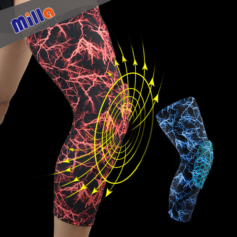 Wholesale Sports Kneecaps Cover Honeycomb Anticollision Nursing Patella Compression Guetre-m Basketball Football Protective Clot